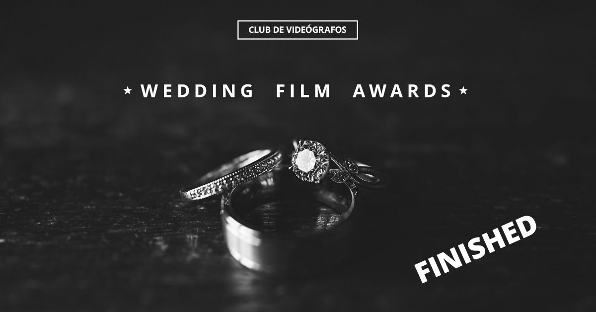 wedding film awards finished