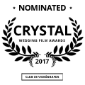 Videos de bodas nominados en concurso CRYSTAL 2017